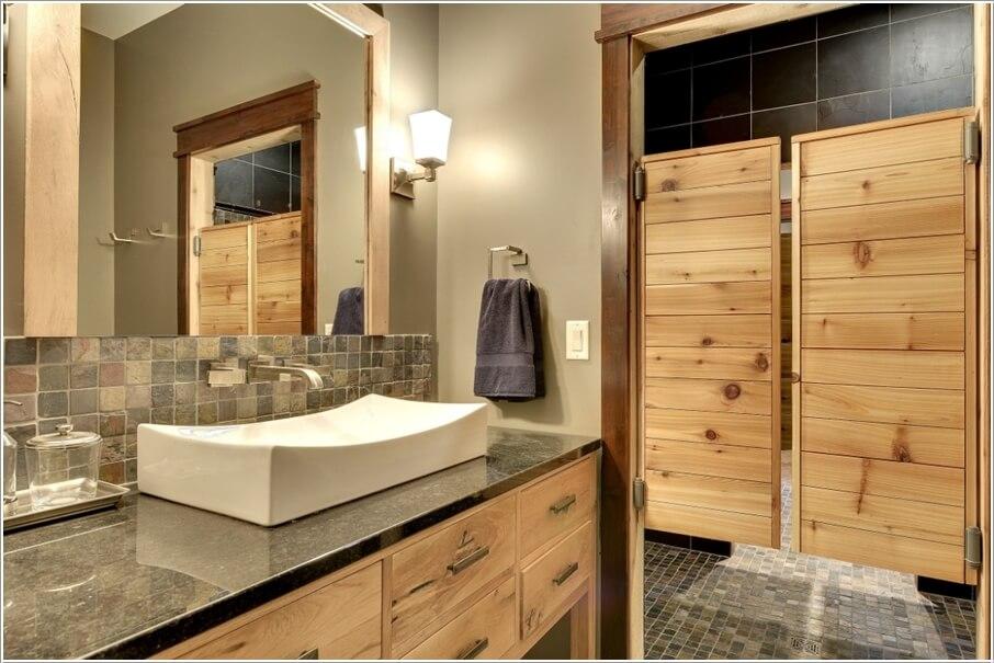 10 maravillosas ideas de puertas de baño